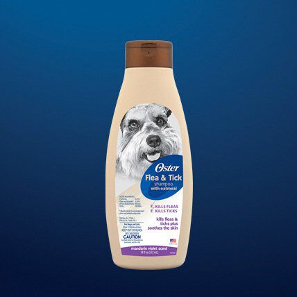 pet flea and tick shampoo